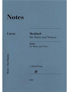 Henle Manuscript Notebook: Large  |