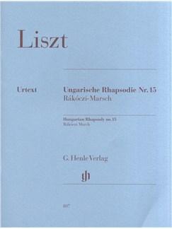 Franz Liszt: Hungarian Rhapsody No.15 - Rákóczi March Books | Piano
