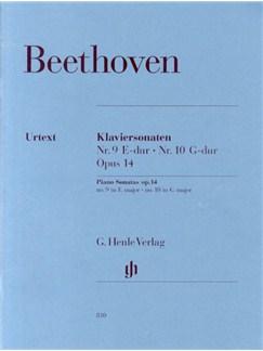 Beethoven: Piano Sonata No.9 And No.10 Op.14 (Henle Urtext Edition) Books | Piano