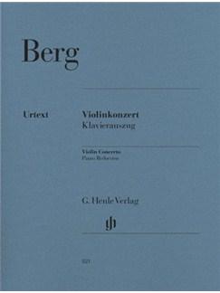 Alban Berg: Violin Concerto - Urtext (Violin/Piano) Books | Violin, Piano Accompaniment