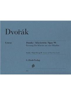 Antonin Dvorak: Dumky - Piano Trio Op.90 (Piano Four-Hands) Books | Piano Duet