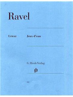Maurice Ravel: Jeux d'eau (Henle Urtext Edition) Books | Piano