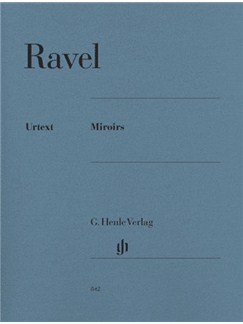 Maurice Ravel: Miroirs (Piano Solo) Books | Piano