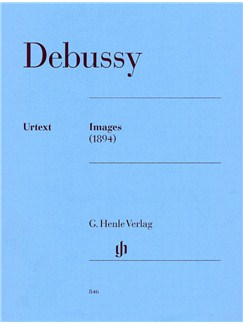 Claude Debussy: Images -1894 (Henle Urtext Edition) Books | Piano
