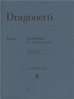 Domenico Dragonetti: Twelve Waltzes Op.67 Books | Double Bass