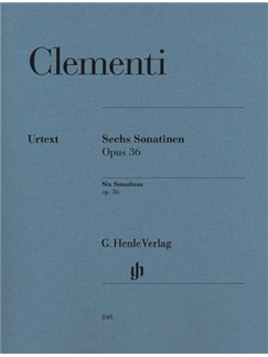 Muzio Clementi: Six Sonatinas Op.36 Books | Piano