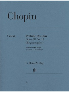 Frederic Chopin: Prelude In D Flat Op.28 No.15 (Raindrop) Books | Piano