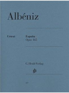 Isaac Albéniz: España Op.165 (Urtext Edition) Books | Piano