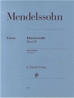 Felix Mendelssohn: Piano Works Volume 2 Books | Piano