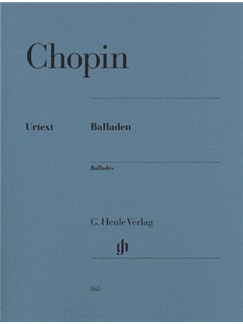 Frédéric Chopin: Ballades (Henle Urtext Edition) Books | Piano