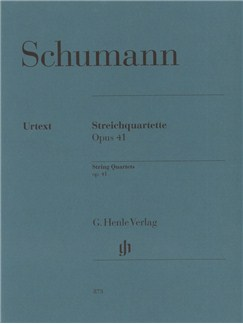 Robert Schumann: String Quartets Op.41 Books | String Quartet
