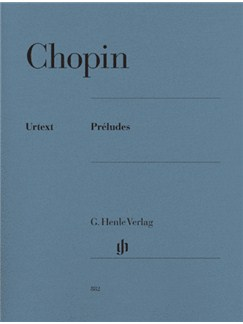 Frederic Chopin: Preludes (Urtext Edition) Books | Piano