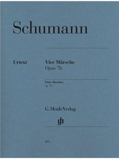 Robert Schumann: Four Marches Op.76 - Urtext Books | Piano