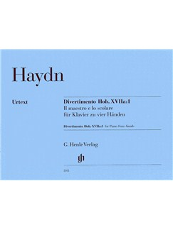 Joseph Haydn: Divertimento Hob. XVIIa:1 (Henle Urtext Edition) Books | Piano Duet