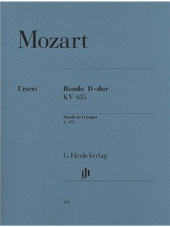 W.A. Mozart: Rondo In D K.485 Books | Piano