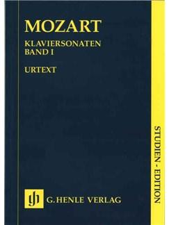 W.A. Mozart: Piano Sonatas Volume I Books | Piano