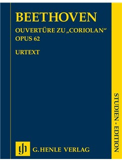 Ludwig Van Beethoven: Coriolan Overture Op.62 (Study Score) Books | Orchestra