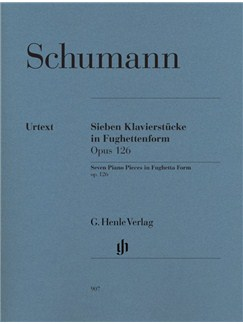 Robert Schumann: Seven Piano Pieces In Fughetta Form Op.126 - Urtext Books | Piano