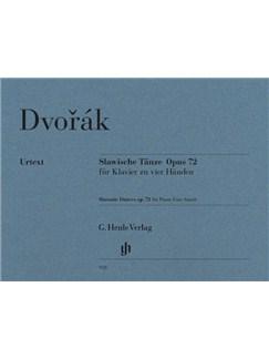 Antonín Dvorák: Slavonic Dances Op.72 - Piano Four-Hands (Henle Urtext) Books | Piano Duet