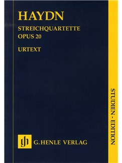 Franz Joseph Haydn: Streichquartette Op.20 (Urtext Score) Books | String Quartet