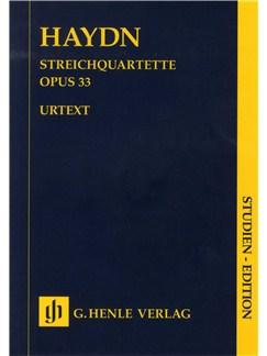 Franz Joseph Haydn: Streichquartette Op.33 (Urtext Score) Books | String Quartet