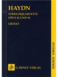 Joseph Haydn: Streichquartette Op.42/50 (String Quartet) Books | String Quartet