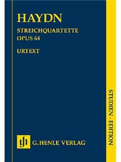 Joseph Haydn: String Quartets Volume VIII Op.64 - Second Tost Quartets (Study Score) Books   String Quartet