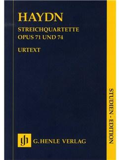 Franz Joseph Haydn: Streichquartette Op.71/74 (Urtext Score) Books | String Quartet