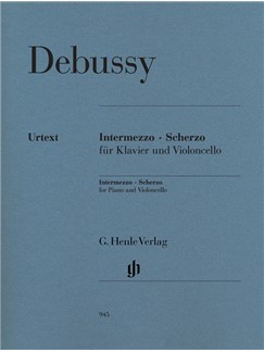 Claude Debussy: Intermezzo And Scherzo For Cello Books | Cello, Piano Accompaniment