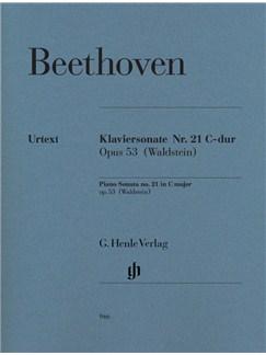 "Ludwig Van Beethoven: Piano Sonata No.21 C Op.53 ""Waldstein"" - Urtext Edition Books | Piano"