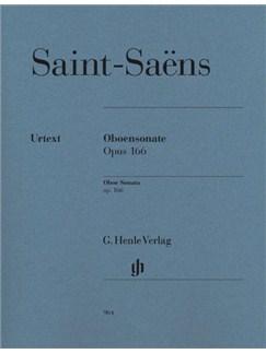 Camille Saint-Saens: Oboe Sonata Op.166 (Urtext) Books | Oboe