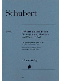 Franz Schubert: The Shepherd On The Rock Books | High Voice