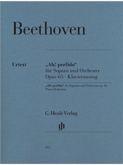 "Ludwig Van Beethoven: ""Ah! Perfido"" Op.65 Books 