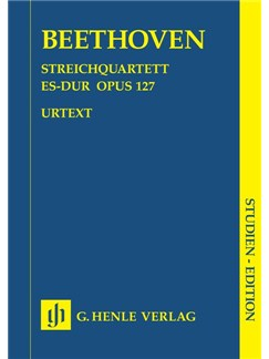Ludwig van Beethoven: String Quartet E flat major op. 127 Books | String quartets
