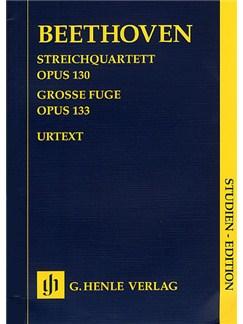Ludwig Van Beethoven: Streichquartett Op.130/Grosse Fuge Op.133 (Henle Urtext Edition) Books   String Quartet