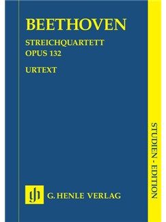 Ludwig Van Beethoven: String Quartet In A Minor Op.132 Books | String Quartet