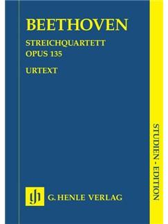 Ludwig Van Beethoven: String Quartet In F Major Op.135 Books | String Quartet
