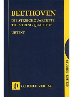 Beethoven: The String Quartets (Henle Urtext Edition) - Box Set Books | String Quartet