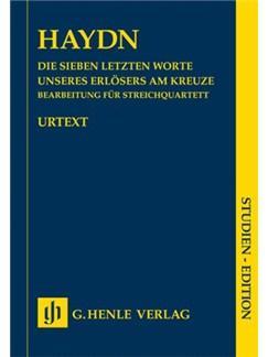 Joseph Haydn: Die Sieben Letzten Worte Unseres Erlösers Am Kreuze (The Seven Last Words On The Cross) Books | String Quartet