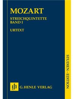 W.A. Mozart: String Quintets - Book 1 (Study Score) Books | String Quintet
