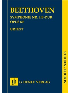 Ludwig Van Beethoven: Symphony No. 4 In B Flat Op. 60 Books | Orchestra