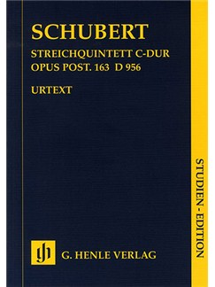 Franz Schubert: String Quintet In C (Henle Edition) (Score) Books | String Quintet
