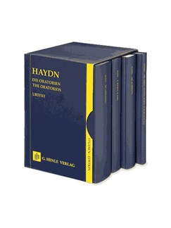 Joseph Haydn: The Oratorios - 4 Volumes In A Slipcase Books | SATB, Orchestra