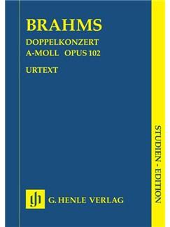 Johannes Brahms: Doppelkonzert A-Moll Op. 102 Books | Orchestra