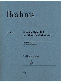 Brahms: Clarinet Sonatas Op. 120 (Clarinet in B Flat) Books | Clarinet, Piano Accompaniment