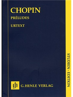 Frederic Chopin: Preludes (Henle Urtext Edition) Books | Piano