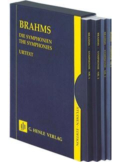 Johannes Brahms: The Symphonies - 4 Volume Slipcase Books | Orchestra
