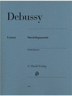 Claude Debussy: String Quartet (Parts) Books | String Quartet