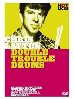 Hot Licks: Chris Layton - Double Trouble Drums DVDs / Videos | Drums