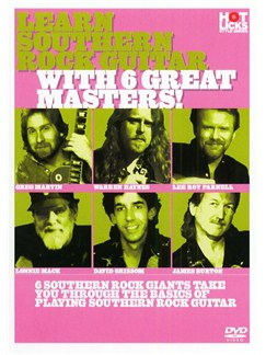 Hot Licks: Learn Southern Rock Guitar With 6 Great Masters! DVDs / Videos | Guitar